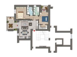 I Papaveri - Appartamento B03